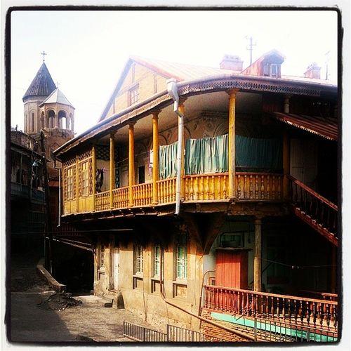 Betlemi Quarter  Tbilisi  Тбилиси Квартал Бетлеми