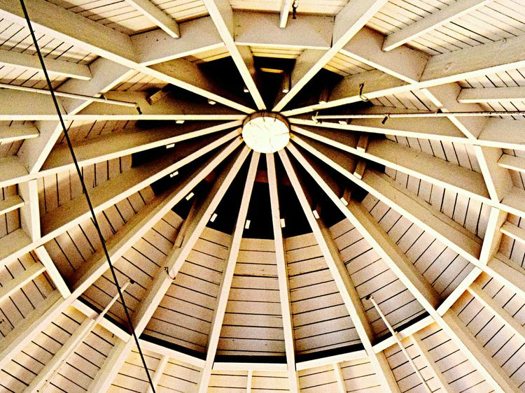 Ceiling Pattern Low Angle View Geometric Lines architecture Built Structure Directly Below No People Indoors  The Week On Eyem EyeEm Best Shots EyeEm Gallery