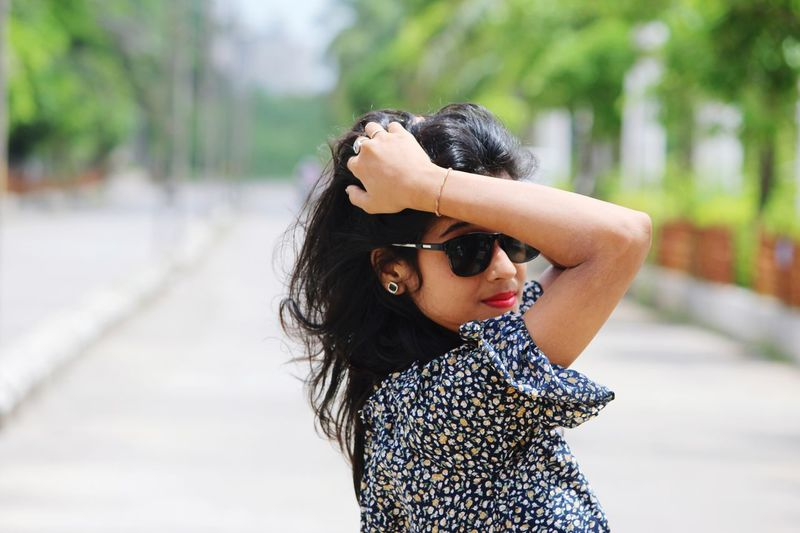 Sunglasses One Person Outdoors Day People Focus On Foreground Wind Girls Childhood Portrait Beauty ImPrashant Imphotographer ImPHOTO Impictures Beautiful People Fashion Beautiful Woman The Portraitist - 2018 EyeEm Awards The Fashion Photographer - 2018 EyeEm Awards