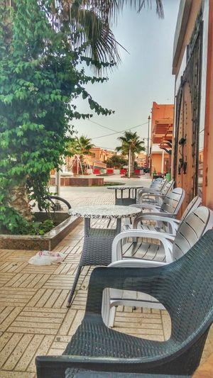 Morocco Sahara Laayoune El Aaiún Garden Cafe