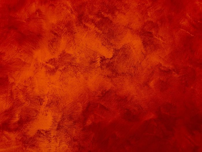 Full frame shot of orange painted wall