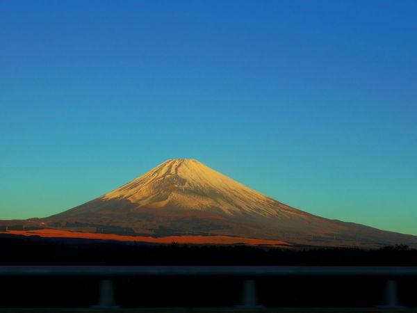 Japan Mt.Fuji Shizuoka-shi Sunrise Ultimate Japan