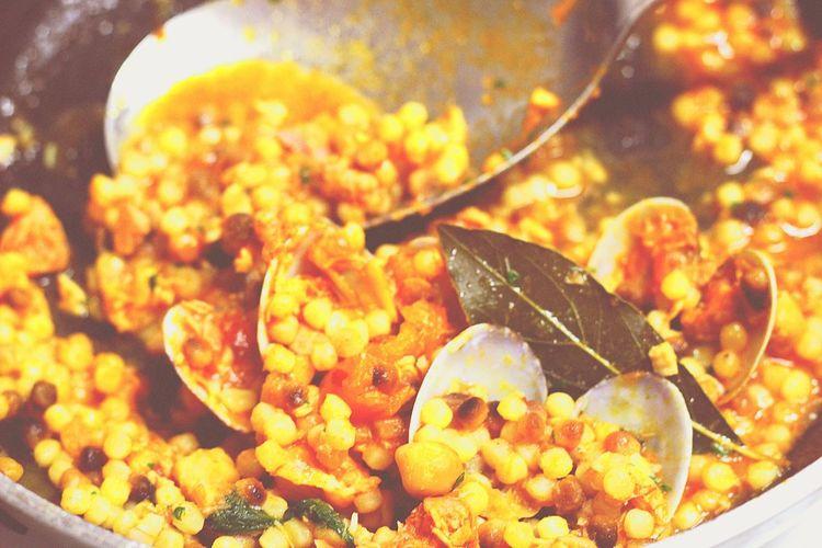 The Foodie - 2015 EyeEm Awards Fregola Sarda Fish And Mussels