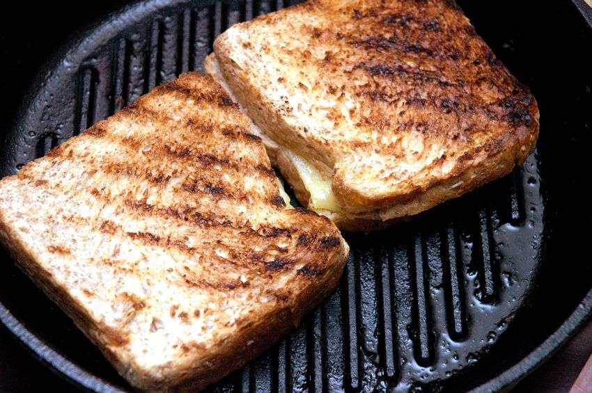 Baked Bread Breakfast Brown Brown Bread Cheese Cheese! Close-up Day Food Food And Drink Freshness Grilled Grilled Cheese Grilled Cheese For Grownups Grilled Cheese Sandwich Healthy Eating Homemade Indoors  No People Sliced Bread Toasted Bread Whole Wheat
