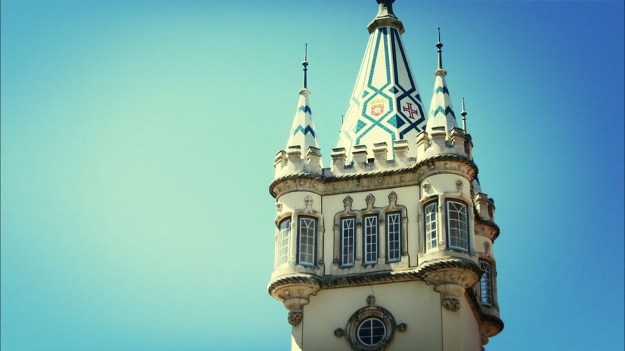 I Love Sintra... Arquitecturestyle Buildings,style,arquitecture,sky Taking Photos Being A Tourist