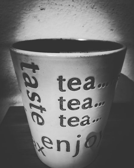 Relax with cup of tea ☕️ Drink Close-up Indoors  No People Day Freshness Drinking Cup Cup Of Tea Tea Tea Time ArtWork Blackandwhite Black & White Black And White Focused Focus On Foreground Softness Soft Light Bristolart IPhoneography Iphonesia IPhone Photography