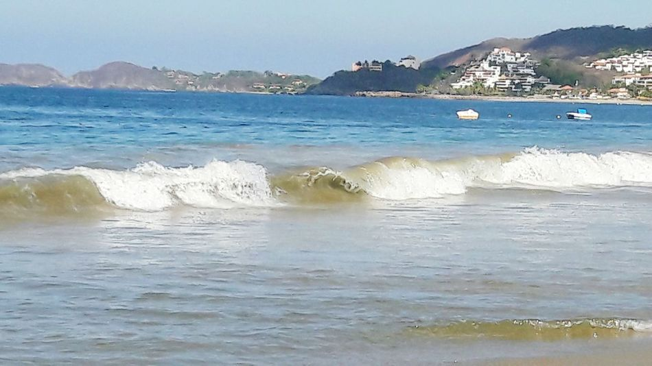 EyeEmNewHere Beach Sea Sand Beauty In Nature Mexicolors Mexico <3 Mexico_maravilloso Mexico De Mis Amores On The Way Beauty In Nature Tranquility Ixtapa Water Nature No People