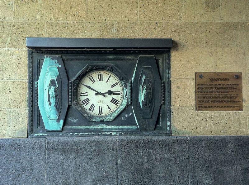 Watch The Clock Hamburg Landungsbrücken  Clock Old Architecture Urban Geometry Eye4photography  EyeEm Best Shots Jopesfotos - Buildings