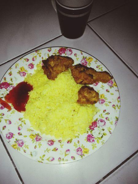 Supper Midnight Nasikuning Malaysianfood #FoodLover #Foodporn