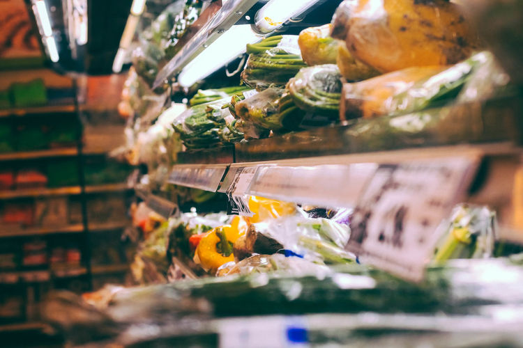 Choice Close-up Food For Sale Freshness Healthy Eating Indoors  Large Group Of Objects Market No People Retail  Sale Selective Focus Store Vegetable
