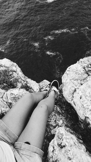 At the end of the world Portugal Cabodesaovicente Vacation My Legs Cliffs