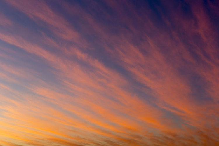 Backgrounds Beauty In Nature Cloud - Sky Day Dramatic Sky Multi Colored Nature No People Orange Color Outdoors Scenics Sky Sky Only Sunset Tranquil Scene Tranquility