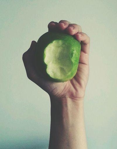 Greeny Day An Apple Keep A Doctor Away.