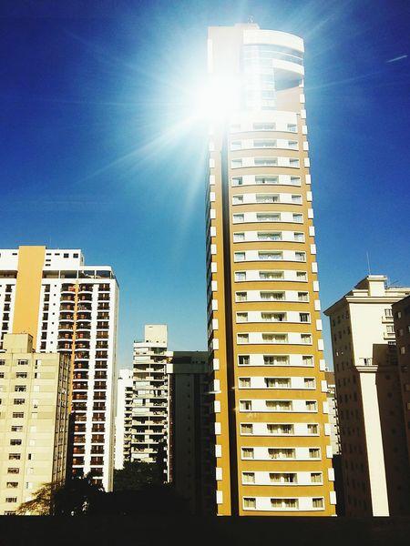 The View Bar - São Paulo Alameda Santos Transamerica Prime São Paulo Brazil Sunlight EyeEm Gallery Blue Sky Building Exterior Skyscraper Burning Sun