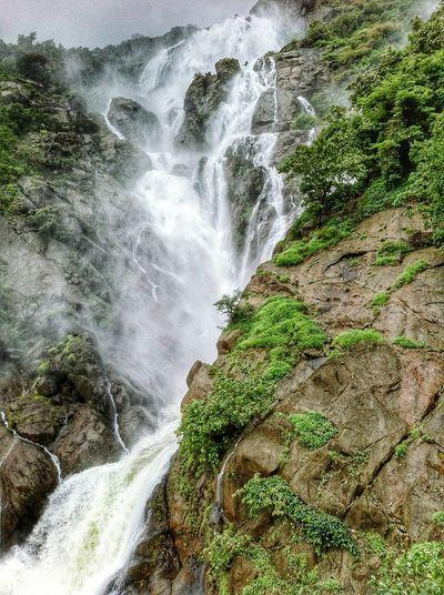 DudhsagarFalls Nature Beauty In Nature First Eyeem Photo IPhone Photography