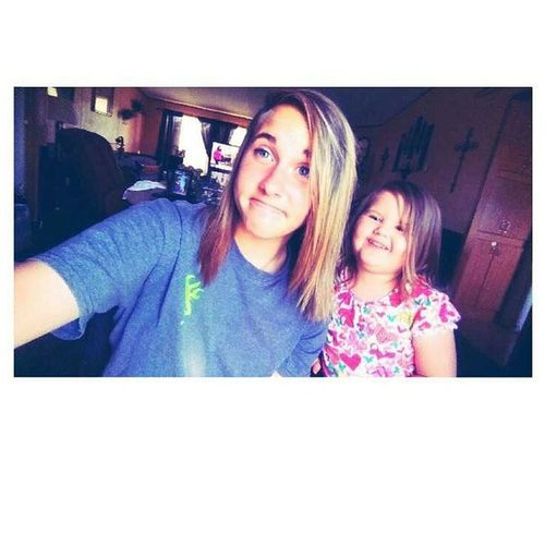 Selfies with my niece CuzShesBæ😋