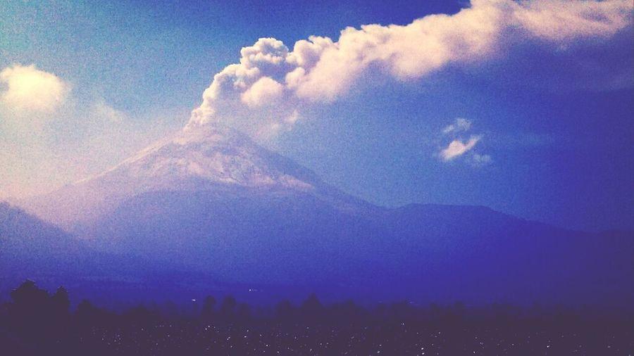Volcano Popocateptl