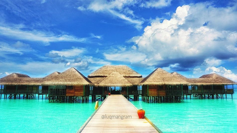 Another Paradise of dream come true Tourist Resort Relaxation Sea Luxury Hotel Architecture Gililankanfushi Maldives Vacations Beauty In Nature Umangram Water Beach Travel Destinations Architecture Traveladdict Travelgasm Luqmangram Traveldiary