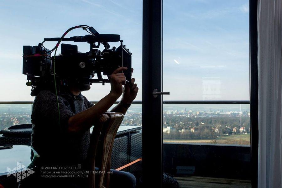 "DOP ""wildlachs"" - dresden view Knitterfisch---- life on set filmset behind the scenes buissnes woman Director filmmaker mompreneur Setlife knitterfisch"