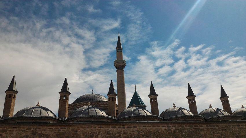 Konya Konya Mevlana Mevlana Mavigökyüzü Blue Sky