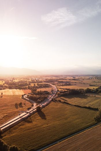 w/ Mavic🔥 Landscape_photography Landscape_Collection Nature Photography Nature Nature_collection Italia View From Above View Goldenhour Drone  Dronephotography Droneshot Reflection Italy Torino Piemonte Canavese Sunset Sky Landscape