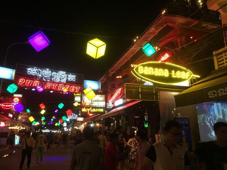 Nightmarket Night Enjoying Life Cambodia Siemreap Travel