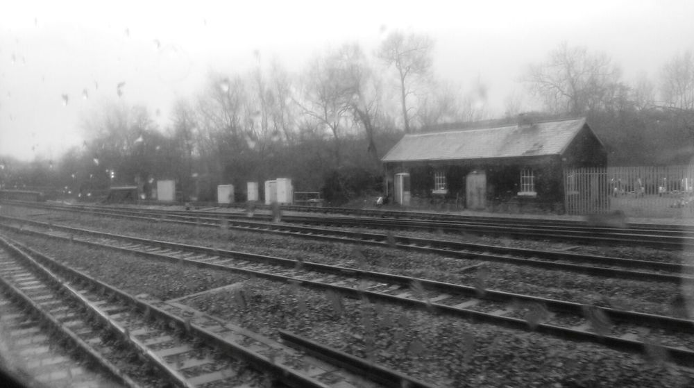 Up The Junction Commuting Grey Railway Connection Links Journey Worn Cold Empty Places Lonely Solitary Tracks Steel Railroad Decisions Split Choices Life Choices