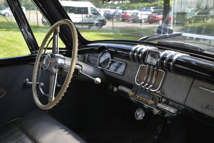 Automobilmuseum Amerang Car Close-up Day Land Vehicle Metal Mode Of Transport No People Outdoors Steering Wheel Transportation