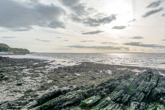 Beach Beauty In Nature Clevedon Pier Cloud - Sky Day English Coastline Horizon Over Water Nature No People Outdoors Scenics Sea Sky Tranquil Scene Tranquility Water