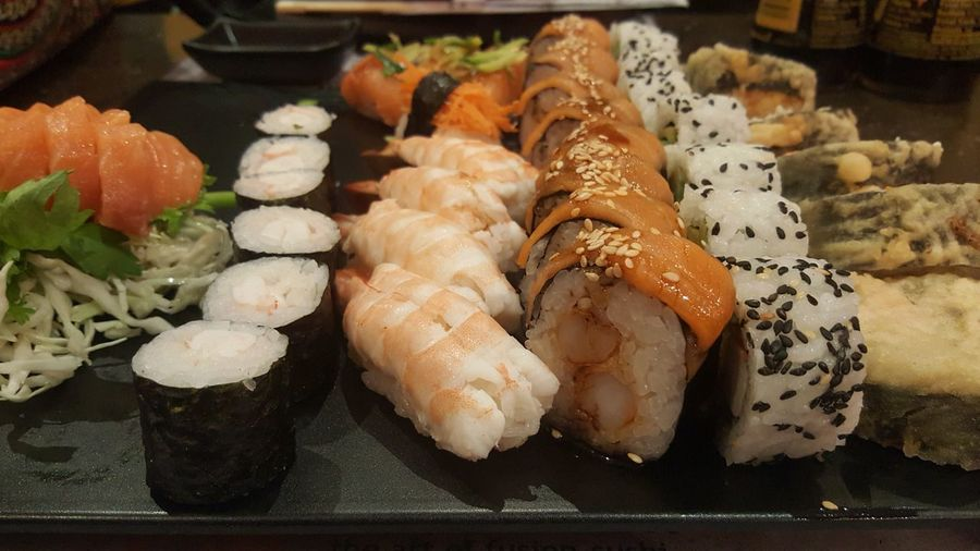 Sushi Offer Delicious ♡ Night Restaurant Dish Mori Brazil Cairo Heliopolis Tivoli Dome Expensive Tasty Offer Seafood Food And Drink Sushi Japanese Food Freshness Food Healthy Eating Close-up Sashimi  Ready-to-eat No People Indoors