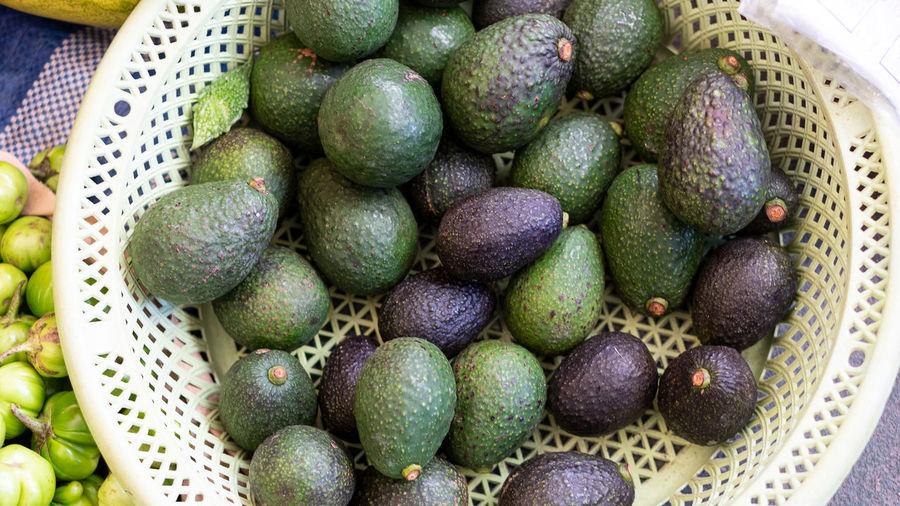 Many avocados