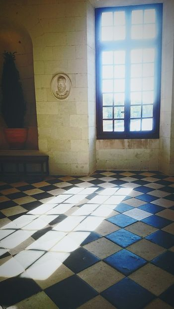 Window Sunlight No People Day Indoors  Tiled Floor Built Structure Lumière poudrée France Picoftheday Hollidays Tranquil Scene Delaver Castle View  Castle Stories From The City
