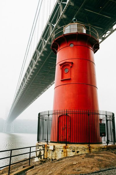 The Little Red Lighthouse | Fort Washington Park, NYC | 2014 Streetphotography Streetscape Washington Heights Fort Washingtion Park NYC Photography New York New York City Little Red Lighthouse Elegance Everywhere The Best Of New York