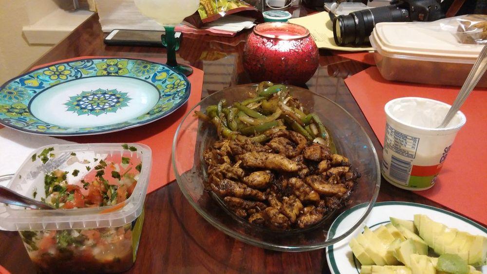 Food Porn Texmex Fajitas Off The Grill Pico De Gallo Margaritas My Wife Cooks!!!