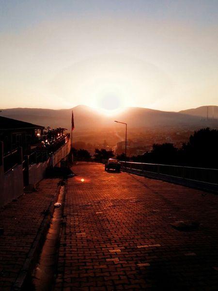 Sabah Güneşi Doğuşu Günaydın 😄