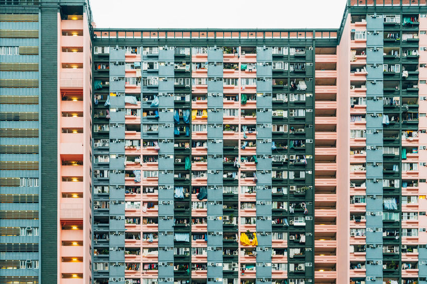 Apartment Architecture Building Exterior Built Structure City Cityscape Clear Sky Day Low Angle View No People Outdoors Residential  Residential Building Sky Window