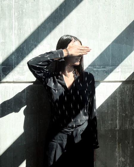Shadow Sunlight One Person Outdoors Day Women Young Women Young Adult One Woman Only Adult People Adults Only EyeEmBestPics The Week On EyeEm EyeEm Best Shots EyeEm Selects EyeEm Masterclass EyeEm Gallery Fashion Photography Fashion Architecture The Portraitist - 2018 EyeEm Awards