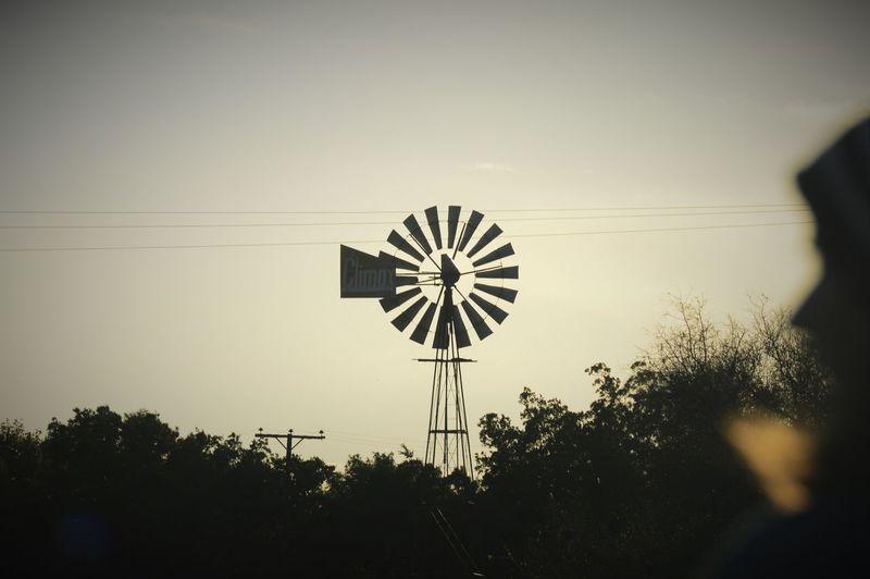 Silhouette Tranquility Outdoors Farm Amateur Photography Amateur Shot Wind Turbine Farm Life Beautiful Mistake South Africa Nature On Your Doorstep Amateurshot Warmlight