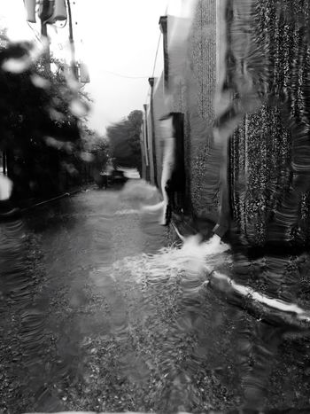 Rainy Days Raining Black And White Black & White Water Spouts Flooding