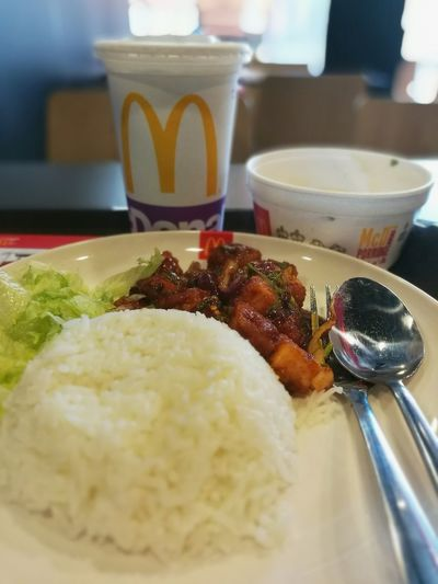 Quicklunch McDonald's Salmon Namtok Set