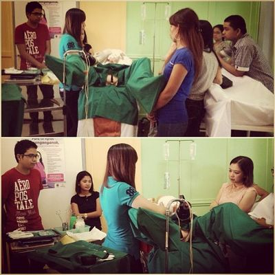 Today's highlight! Repost from Dean Pam. :) <3 Aulpgs Advanced Clinicalteaching