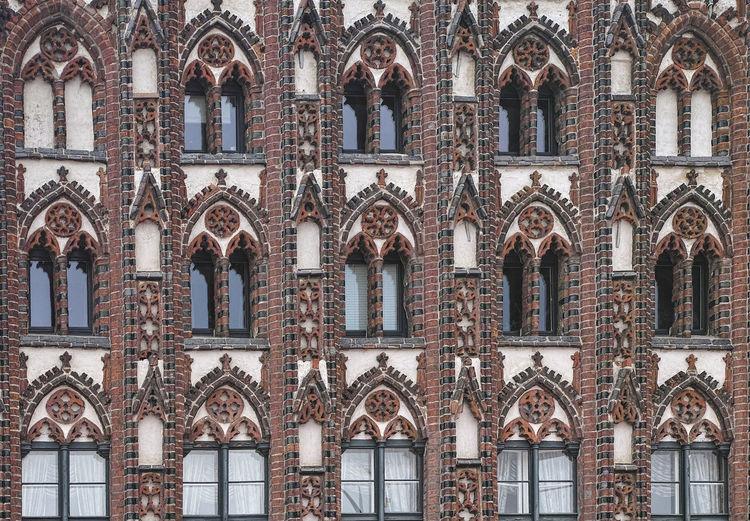 Full frame shot of historic building