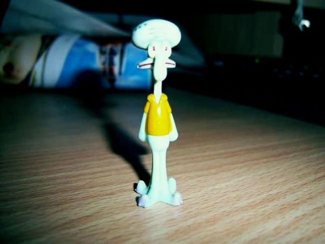 Indoors  No People Close-up Darkness Spongebob Calamardo EyeEmNewHere