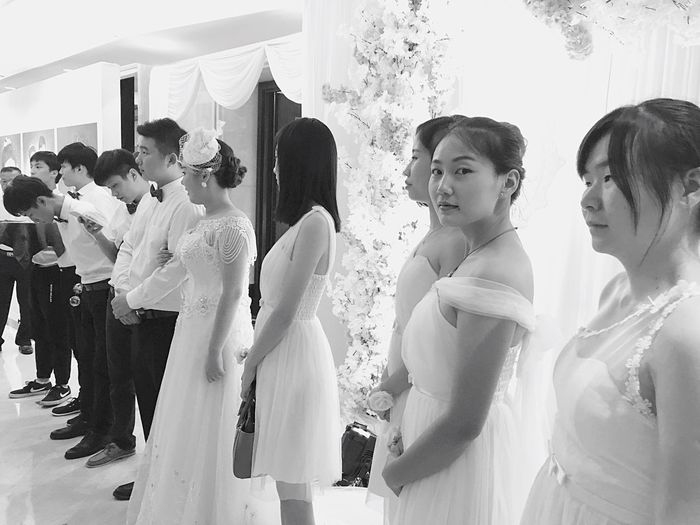 Bridesmaid伴娘 Blac&white  Black&white Black And White Black And White Photography Black & White Blackandwhite Photography Blackandwhite