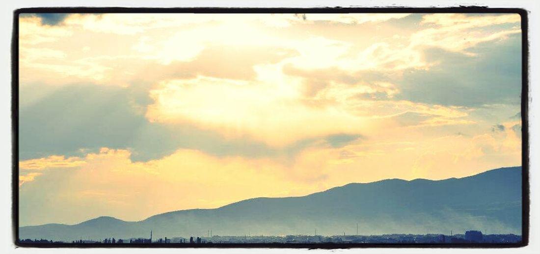 Merzifon Clouds Sunrise