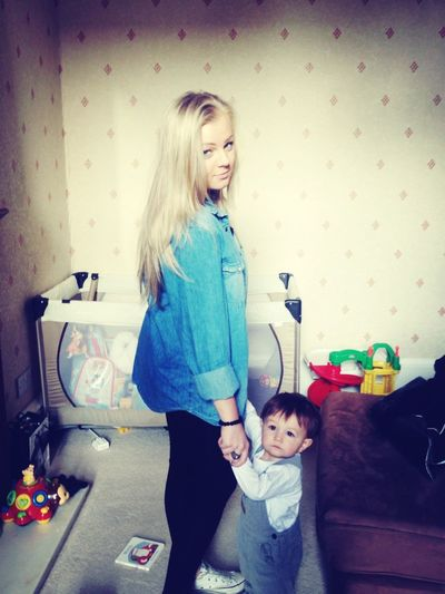 Sister And Nephew!<3