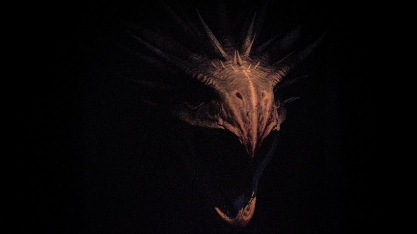 hungarian horntail Magic Monster Harrypotter Dragon Fantasy Animalportrait Fantastic Portrait Museum Black Background Motion Arts Culture And Entertainment Entertainment