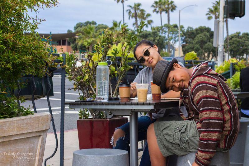 Siblings Sibling Love Huntington Beach CA Breakfast Time