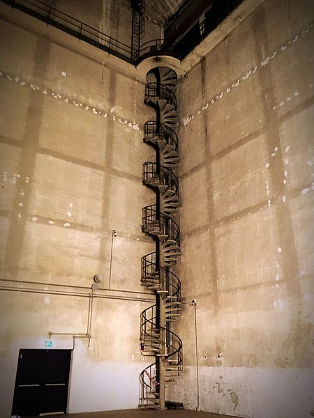 Perfect Place Limited Space Spiral Stairs Up To Nowhere Hangarbicocca