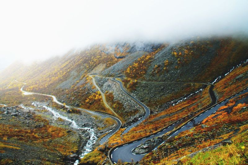 The Journey Is The Destination Trollstigen Norway Road